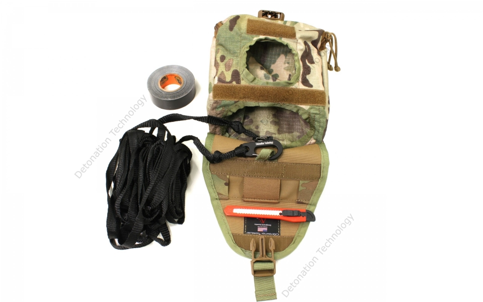 EOD A pouch gen2 flap open webbing and tape out